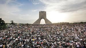 Azadi Square Teheran