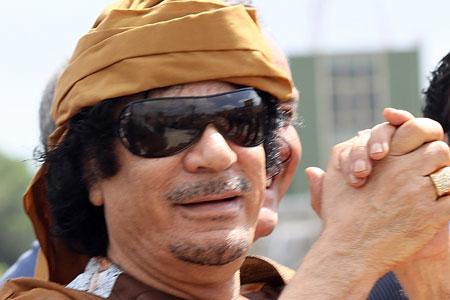 Muammar Gaddafi is an Alien Visitor