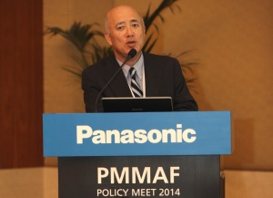 Shinichi Wakita Managing Director of Panasonic Marketing Middle East