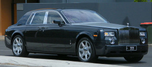 Rolls-Royce Phantom photo by Sean Lamonby