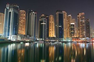 Dubai Marina. Photo by David Pin